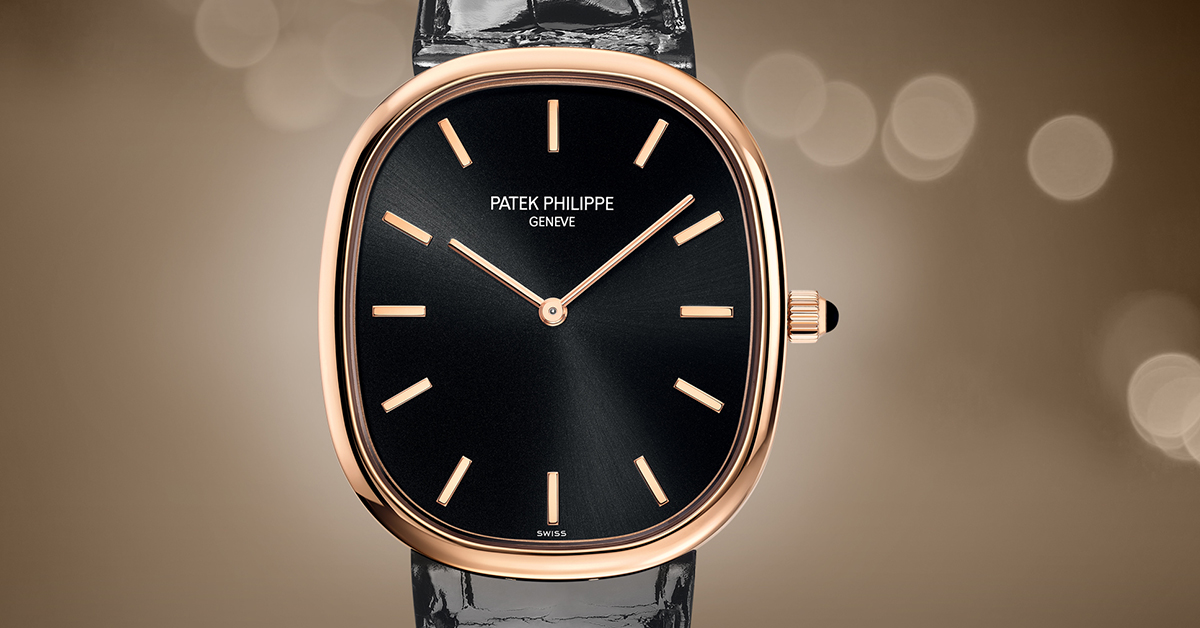 buy swiss best patek philippe golden ellipse replica